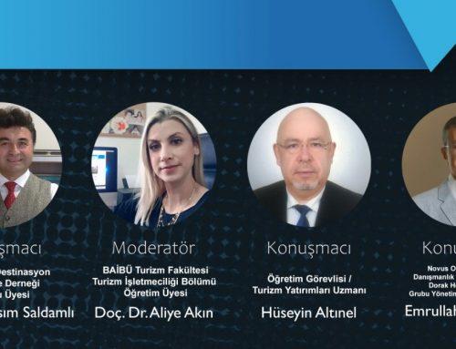 """Prof. Dr. Asım Saldamlı, """"Turizm Sektöründe Girişimcilik"""" panelinde TDGD'yi temsil etti"""