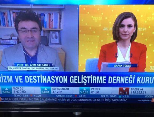 Prof. Dr. Asım Saldamlı, A Para TV'ye konuk oldu